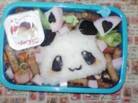 キャラ弁 簡単☆パンダのお弁当