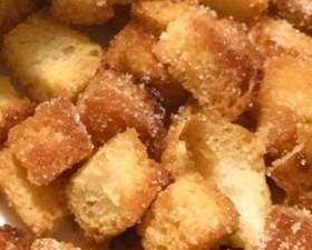 オーブンでザクザク✨食パンラスク
