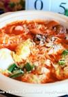 白菜が美味しいチーズ味噌トマト鍋♡