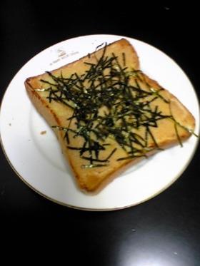 めんたいトースト