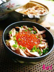 土鍋でご飯♪はらこ飯の写真
