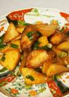 鶏唐リメイク 鶏と大根の甘辛炒め煮