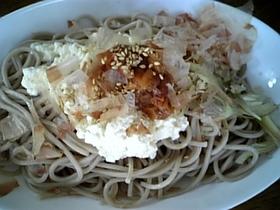 ヘルシー☆豆腐ぶっかけ蕎麦