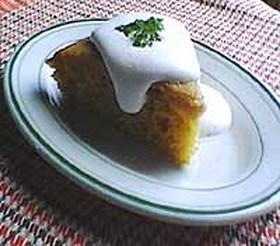 きびさとう風味のかんたんブランデーケーキ