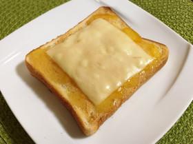ピーナッツ*マーマレード*チーズトースト