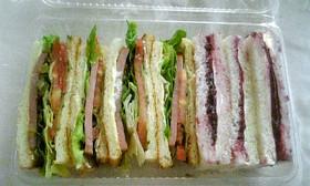 いつものサンドイッチ