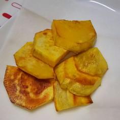 サツマイモのオリーブオイル焼き