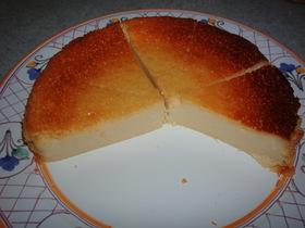 簡単☆豆乳チーズのチーズケーキ(乳なし
