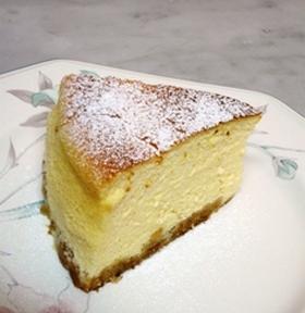ミキサーで超簡単なチーズスフレケーキ♪