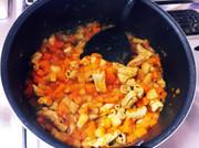 パンに合う!トリッパ風白モツトマト煮込みの写真