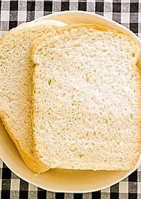 HBで☆1斤で塩分約1g少しの減塩食パン