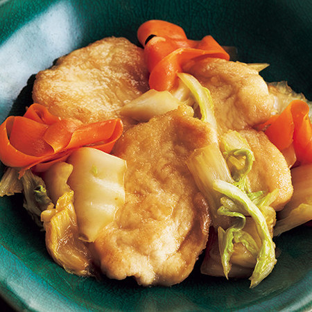 とり肉と白菜の中華炒め
