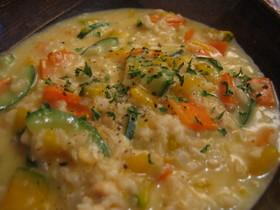 ホッとする味☆玄米チーズリゾット
