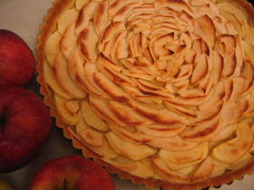 フランス家庭料理 リンゴのタルト
