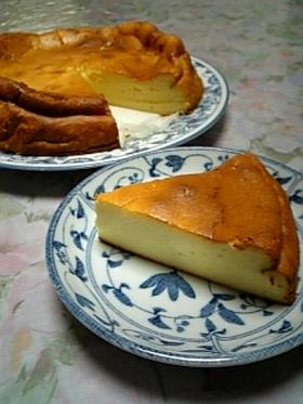 ベイクドチーズケーキ(材料使いきり!)