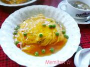 簡単~♪コンソメ餡の天津飯の写真