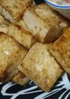 簡単タレ焼き豆腐