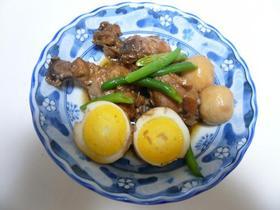 手羽元と卵の酢醤油煮
