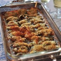 牡蛎のガーリックバター焼き