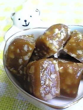 カリポリ噛んで美味しい簡単☆タフィー