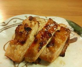 鶏ムネ肉のつけ焼き
