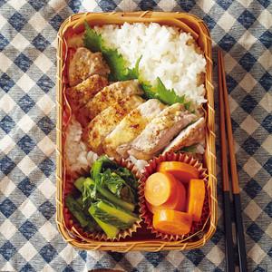 豚肉の漬け焼き弁当