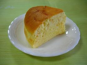 牛乳で作るスフレチーズケーキ