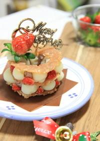 愛犬ごはん*2015年クリスマスケーキ