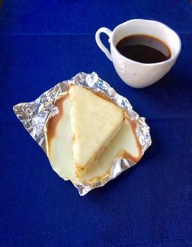 クリームチーズ入り。三角スイートブール君