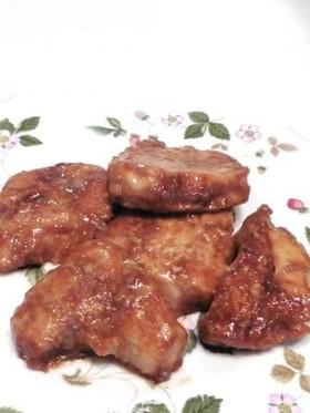みそ味鶏むね肉の軟らかソテー