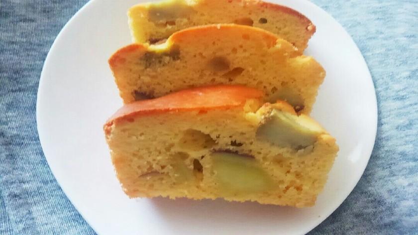 簡単☆米粉のさつま芋パウンドケーキ