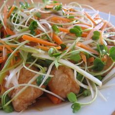 鮭とシャキシャキ野菜の南蛮漬け