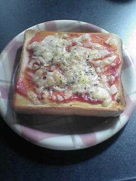 朝食に☆簡単ピザ風トースト♪