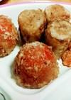 ツナ1缶分でプチトマトとちくわの揚げ焼き