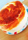 リコッタチーズとヨーグルトのスフレケーキ
