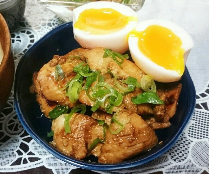 節約★簡単★鶏むね肉の柔か生姜焼き♪