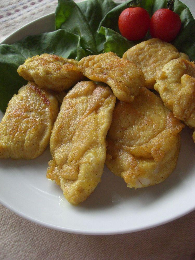 ☆鶏むね肉の簡単カレー焼き☆