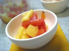 トマトとパインの冷たいサラダ