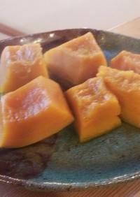 お弁当に!我が家のかぼちゃの煮物