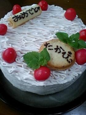 バースデーケーキ★デコレーション