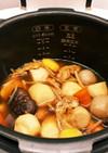 酵素玄米炊飯器で作るお煮しめ