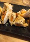 レンジで簡単ごぼうと人参の蒸し鶏