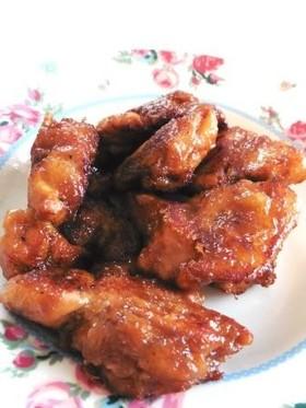 鶏もも肉の生姜みそから揚げ!
