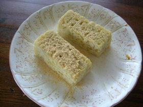 油卵粉なし!豆腐入スイートポテトケーキ