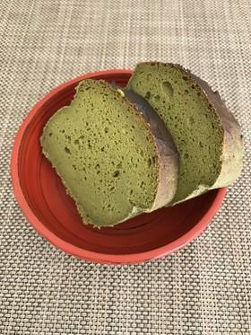 ノンオイルおから抹茶パウンドケーキ