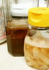 紅茶キノコ(コンブチャ)で大根の咳止め