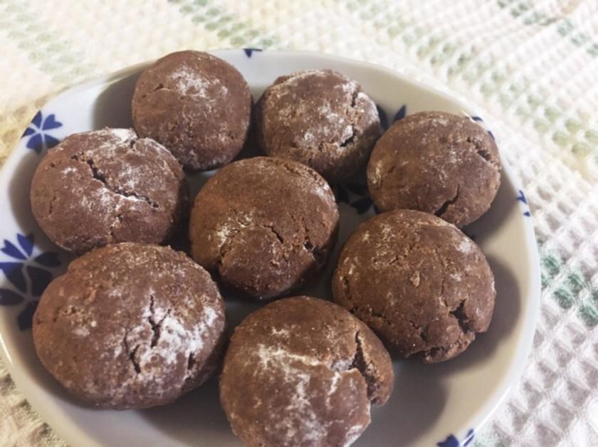 超簡単 サクサクココアクッキー
