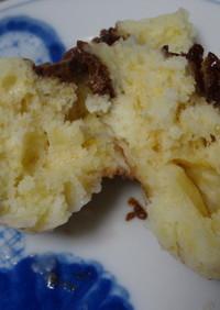 レンジでチョコ蒸しパン