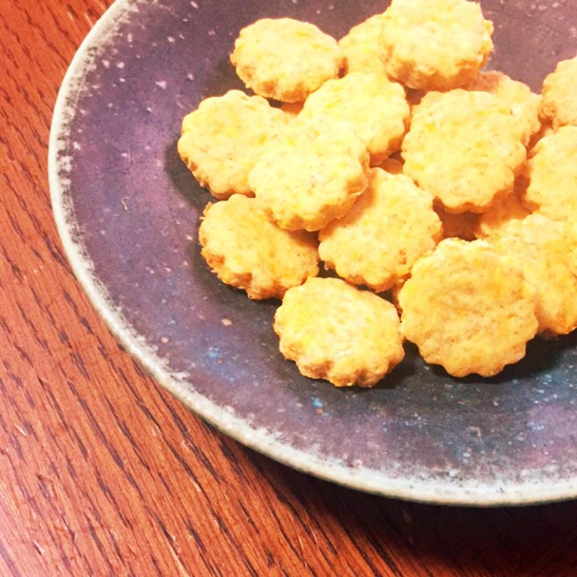 畑のにんじんクッキー(╹◡╹)