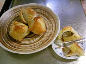 栗の渋皮煮のパイ